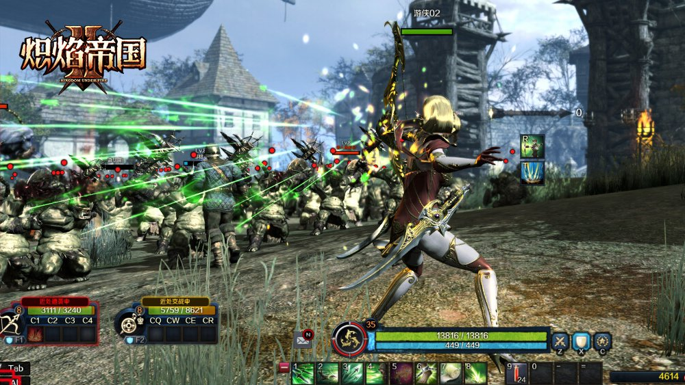 Kingdom-Under-Fire-II-Ranger-combat-screenshot-1