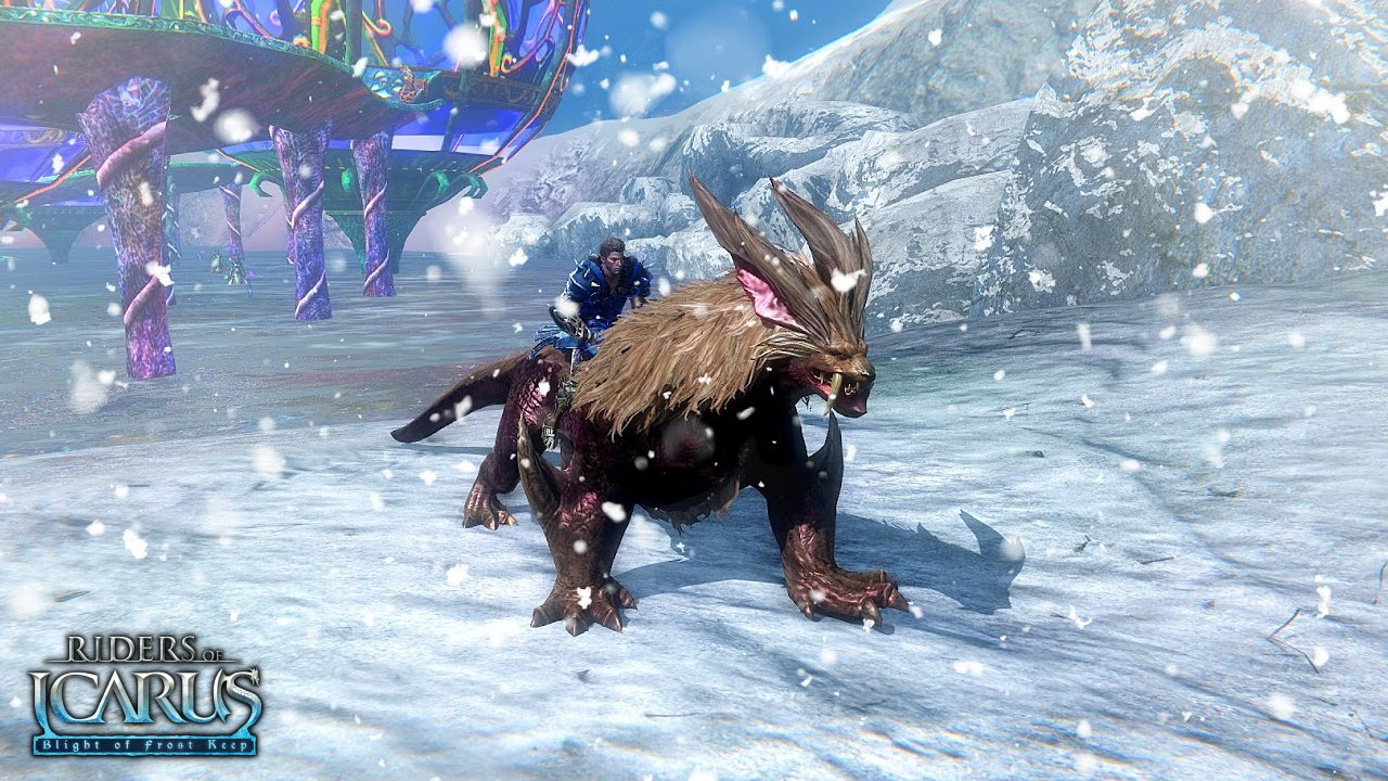 Riders-of-Icarus-Blight-of-Frost-Keep-new-mount