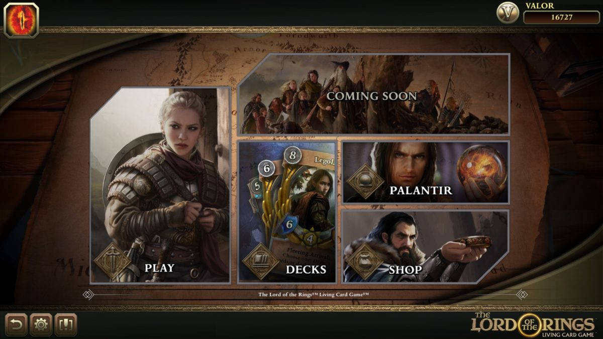 Lord Of The Ring Card Game Online